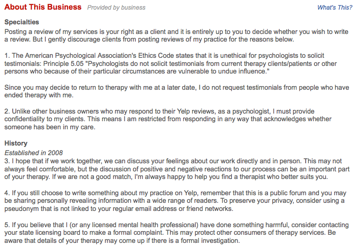 SXSW 2012 - WARNING: Are Online Reviews Bad for Your Health